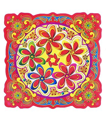Rangoli and Hindu Symbols - Wall and Floor Stickers