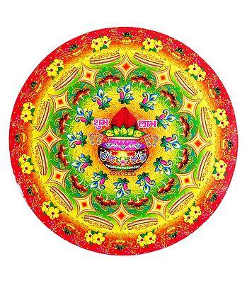 Rangoli and Hindu Symbols - Wall and Floor Stickers