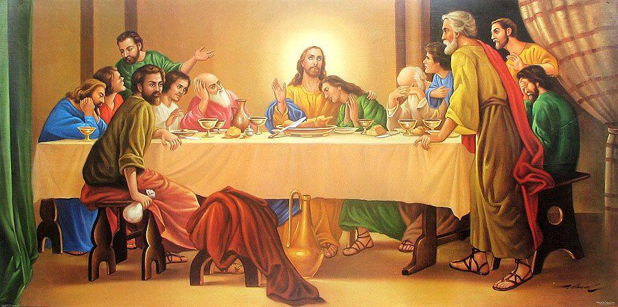 jesus christ the last supper