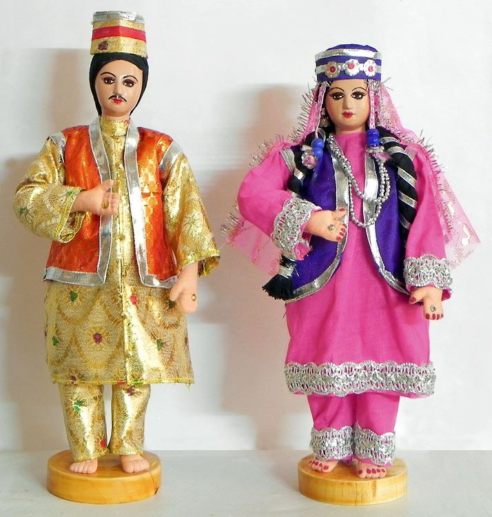 Kashmiri Bride And Bridegroom