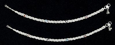 Metal Braided Anklet