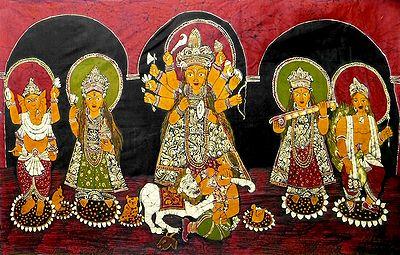 Goddess Durga with Her Family