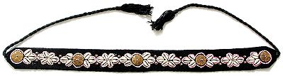 Cowrie and Beaded Belt