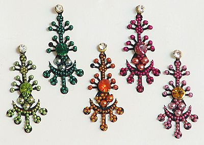 Multicolor Designer Bindis