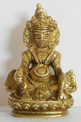 Buddhist Kubera Vaishravana Protector Of Wealth