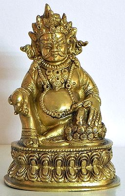 Buddhist Kubera - Vaishravana (Protector of Wealth)
