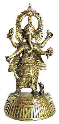 Ganesha - Tribal Dhokra Art