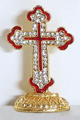 Stone Studded Holy Cross