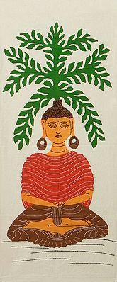 Lord Buddha - (Wall Hanging)