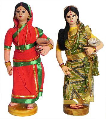 Bengali Village Ladies Going to Fetch Water