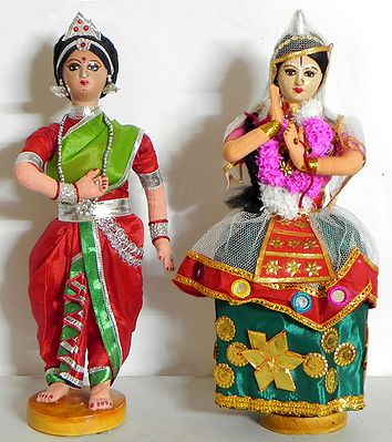 Manipuri and Odissi Dancer