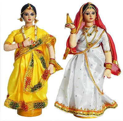 Tamil Costume Dolls
