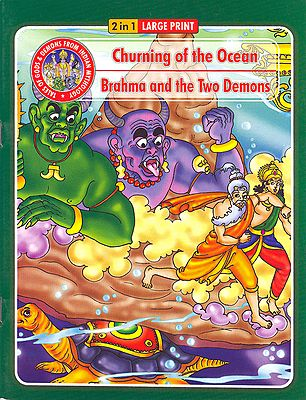 Churning of the Ocean and Brahma and the Two Demons - (Tales of Gods and Demons from Indian Mythology)