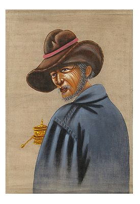 Old Man from Tibet