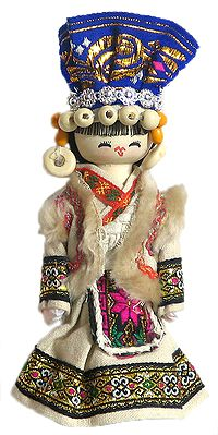Chinese Folk Dance Costume