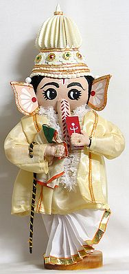 Ganesha as Bengali Groom