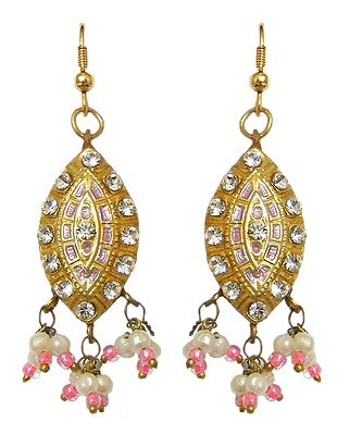 Buy Lac Meenakari Earrings