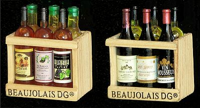 Wine and Liquor Carriers - Set of Two Magnet