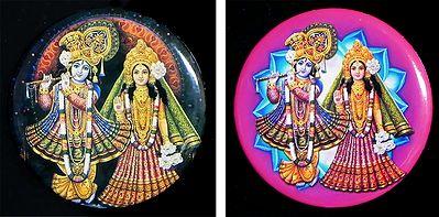 Radha Krishna - Set of Two Magnets