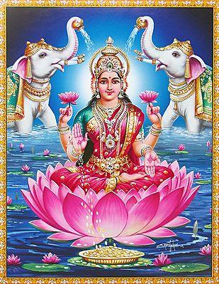 Kamala - One of the Ten Mahavidyas