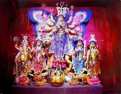 Mahishasuramardini Durga