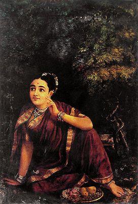 Radha Waiting for Krishna in Kunjavan