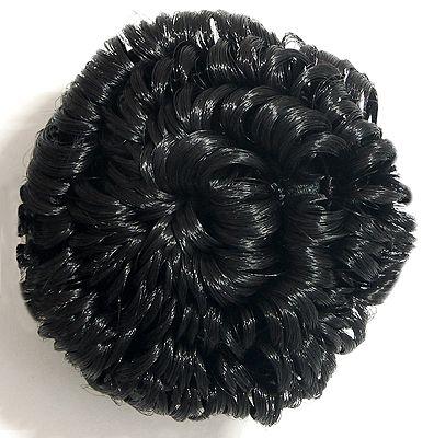 Fashionable Black Hair Bun