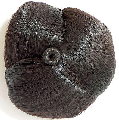 Brown Hair Bun