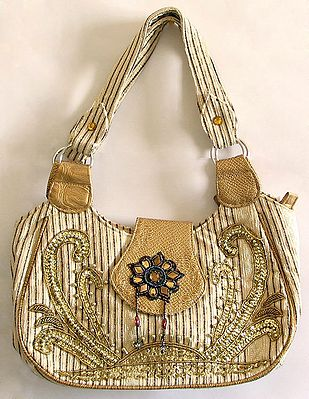 Gorgeous Beaded and Sequined Bag