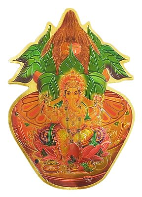 Ganesha on Kalash