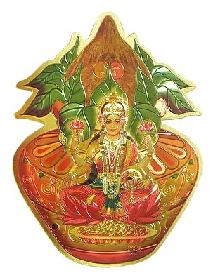 Lakshmi on Kalash