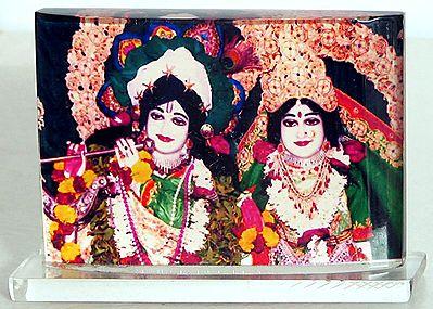 Radha Krishna - Acrylic Table Stand