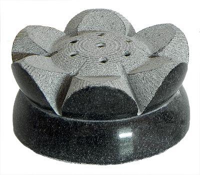 Stone Carved Lotus Incense Stick Holder