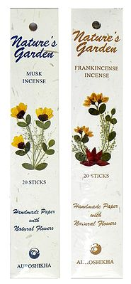 Pack of Two Musk and Frankincense Fragrance Incense Sticks