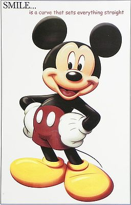 Smiley Micky Mouse
