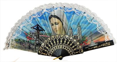 Mother Mary - Wall Hanging Fan