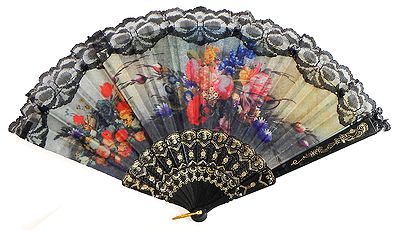 Passion and Beauty - Wall Hanging Fan