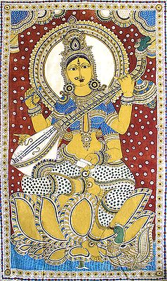 Saraswati - Goddess of Music and Knowledge