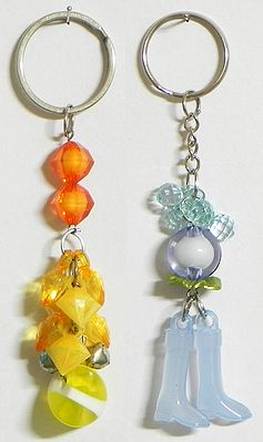 Sun and Moon - Set of Two Key Chains