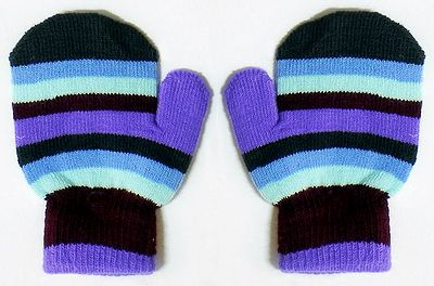 Multicolor Stripe Gloves