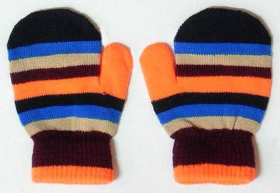 Multicolor Stripe Gloves
