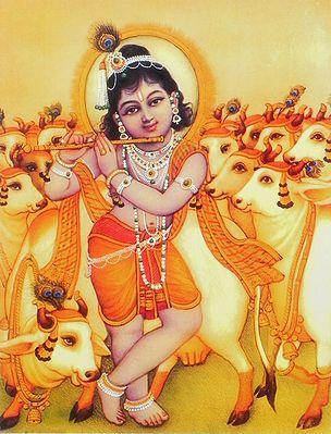Krishna as Cowherd