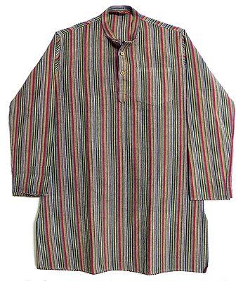 Multicolor Striped Full Sleeve Kurta