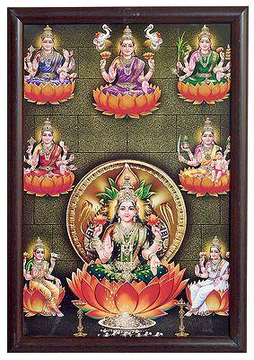 Ashtalakshmi - Wall Hanging