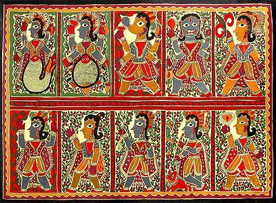 Dashavatara - The Ten Incarnation of Vishnu