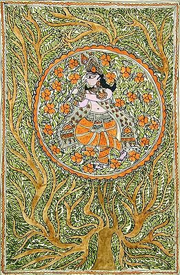 Krishna - Center of the Cosmic Tree