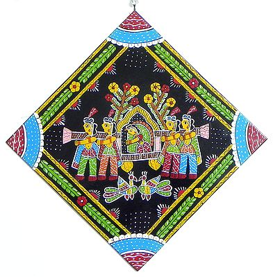 Bride in the Palanquin - Wall Hanging