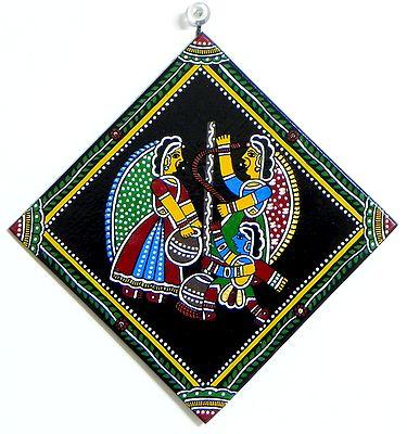 Makhan Chor Krishna - Wall Hanging