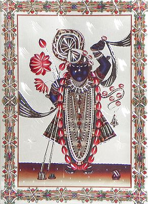 Dwarkadheesh Krishna - Wall Hanging