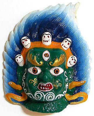 Lord Shiva - Wall Hanging Mask